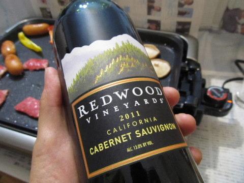 REDWOOD 赤ワイン KALDI